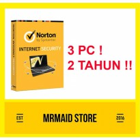 Norton Internet Security 3 PC 2 Tahun