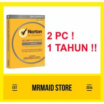 Antivirus Norton Security Premium 2 PC 1 Tahun