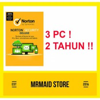 Antivirus Norton Security Deluxe 3 PC 2 Tahun
