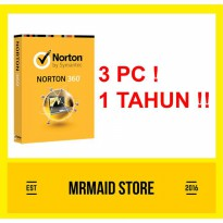 Antivirus Norton 360 3 PC 1 Tahun