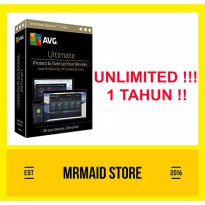 AVG ULTIMATE UNLIMITED DEVICE 1 Tahun