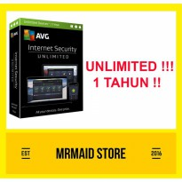 AVG Internet Security UNLIMITED 1 Tahun