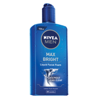 NIVEA Men Liquid Facial Foam Max Bright 150ml