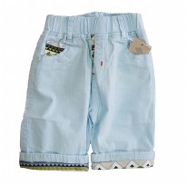 Boys Fashion Short Pant / Celana Pendek Anak 2-7th - Biru (GZ17003)
