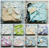 Selimut Double Fleece Carters - Newborn - Unisex / Selimut carter double fleece motif B