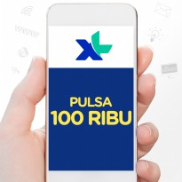 XL AXIS Pulsa 100.000
