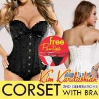 KIM KARDASHIAN CORSET WITH BRA NEW GENERATIONS / Korset Diet KIM KARDASHIAN Model Terbaru