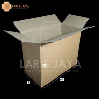 Kardus / Box / Karton / Kotak Packing - 35 x 18 x 28 cm
