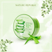 (POP UP AIA) NATURE REPUBLIC ALOE VERA 92% SOOTHING GEL
