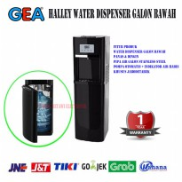GEA HALLEY Water Dispenser Galon Bawah-Hitam