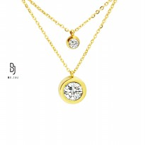 BE.JUU Kalung Knock Knock Korean Jewelry
