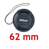 Lens Cap Nikon 62 mm With Rope