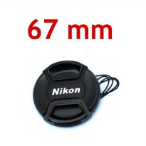 Lens Cap Nikon 67 mm With Rope | Surabaya
