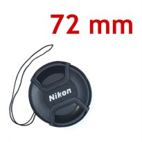 Lens Cap Nikon 72 mm With Rope | Surabaya