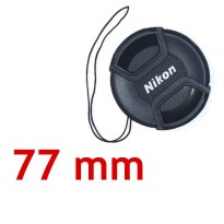 Lens Cap Nikon 77 mm With Rope | Surabaya