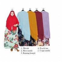 Gamis Jumbo Misby Hijab Bubble 2 susun GKS 1590