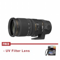 Lensa Sigma 70-200mm f/2.8 EX DG APO OS HSM for Canon - FREE UV Filter