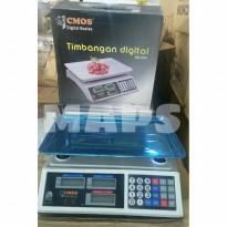 Limited Timbangan Digital CMOS DS-30K kapasitas 30kg Zn3505