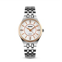 [esiafone happy sale] SKMEI Casual Women Stainless Strap Watch 9105CS / 1133CS - Jam Tangan Wanita