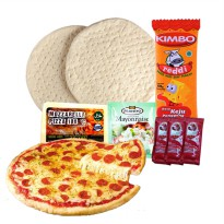Paket Hemat Pizza - 8 Pcs in 1 - Ready to Cook