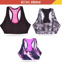 Ladies Sports Bra - Available In 3 Styles - 10 Variety Of Colors To Choose From - Export Quality
