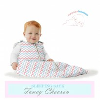 Neenaabooboo Sleep Sack - Fancy Cevron (0-6M)