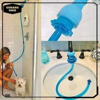 UNIVERSAL SILICONE PET SHOWER HANDHELD RINSER QUICK TD0109