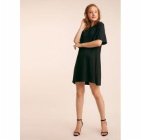 ( POP UP AIA ) - MIZZY SS - Solid Dress Oversized Jersey