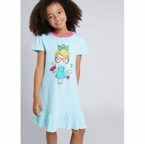 (POP UP AIA) LITTLE ROCK Girly Loose Dress