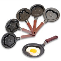 Teflon Mini Frying Pan Fry Karakter Penggorengan 14cm