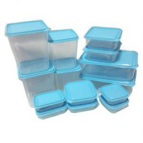 Calista Otaru Sealware Original set 14 pcs ,wadah penyimpanan