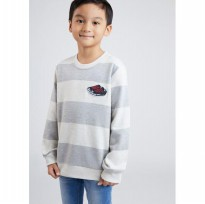 ( POP UP AIA ) - LITTLE ROCK Stripe Sweater