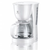 Electrolux ECM1303W / ECM-1303W Coffee Maker [Anti-drip valve prevents excess dripping]