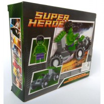 Brick / Block Superhero Hulk