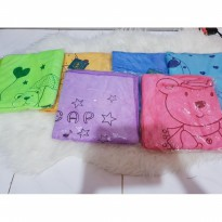 Handuk bayi SP uk 96cm x 50cm lembut motif beruang soft child towel