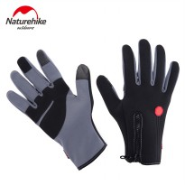 NATUREHIKE Glove Sarung Tangan Windstopper Touch Screen Outdoor Hiking Gloves Hangat