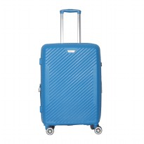 Travel time Trolley Case HY817-24 inch Blue