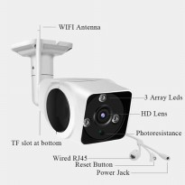 CCTV WIFI IP CAMERA 2MP OUTDOOR V380