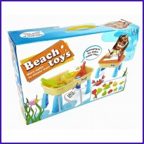 2IN1 BEACH TOYS - MAINAN MEJA PASIR SAND BEACH