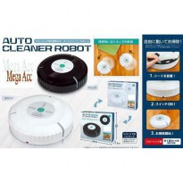 Auto Cleaner Robot Sweeping Cleaning Machine / Mesin Penyedot Debu - Black