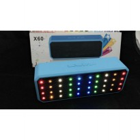 Speaker Bluetooth Super Bass portable LED