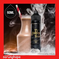 Golden Ticket 60ml Eliquid Vape - Chocolate Milk (USA Liquid)