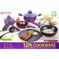 Bazar SUPRA ROSEMARY COOKWARE 12 PCS SET PANCI WAJAN Zn3859