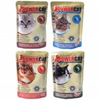 Power Cat pouch 85gr/Makanan Kucing/Petfood/wetfood
