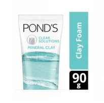 (POP UP AIA) PONDS Clear Solution Mineral Clay Foam [90 g]