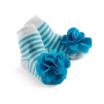 Mudpie Stacy Blue Socks #173248