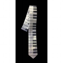 Dasi Slim Fashion Motif Piano