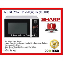 Microwave Sharp R-21A1(W)IN 399 Watt 22 Liter