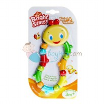 Bright Starts Twist & Teether Color Full For Girls Age 3M+