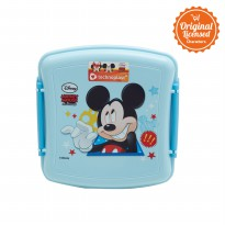Mickey Mouse Square Lunch Box Blue B